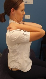 Severe neck pain