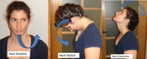 neck flexion