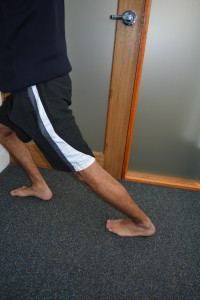 Physio Brisbane CBD calf stretch (2)